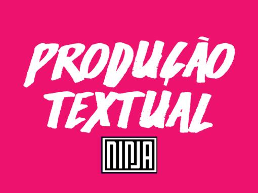 Cartilha de produção textual