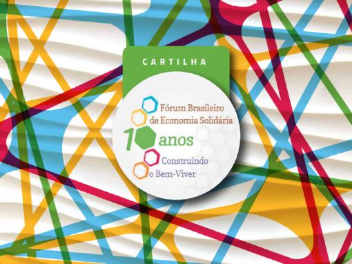 Cartilha do Fórum Brasileiro de Economia Solidária